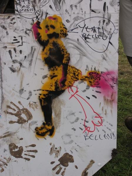 art tart glastonbury 2009