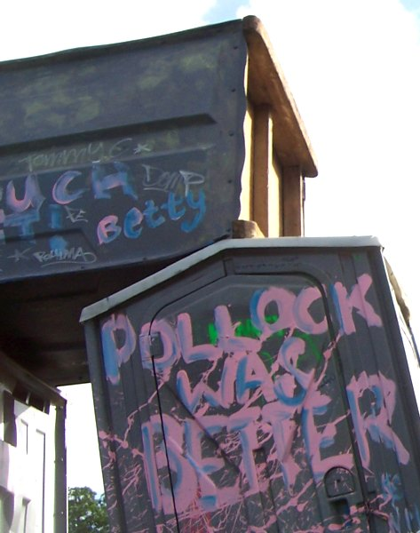 banksy - pollock was better