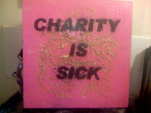 charity is sick