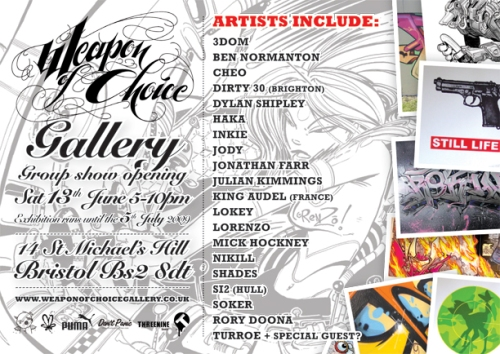 woc gallery june flyer