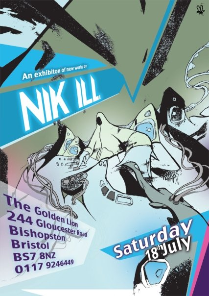 nikill-solo-show-golden-lion-starting-saturday-18th-july