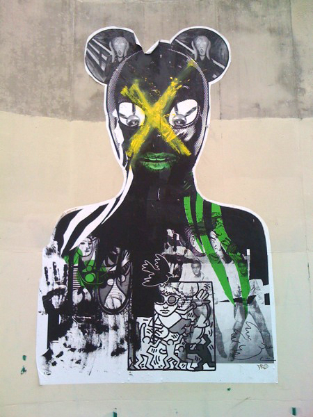 paste up on high street