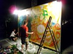 Inkie Live Painting in Ibiza
