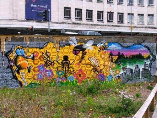 bear pit wall