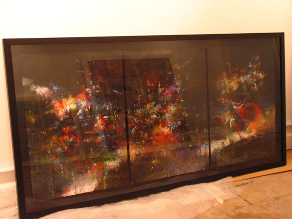 Framed Mr Jago Tryptych