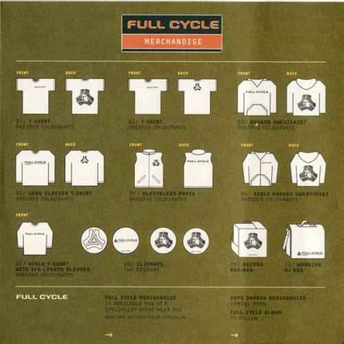 nick walker ways full cycle merch sheet small
