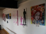 Some of the £50 work upstairs