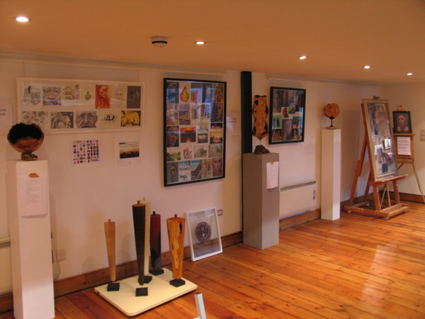 The 'artier' side of things downstairs