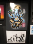 Ganesh and evolution stencils