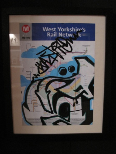 West Yorkshire rail map